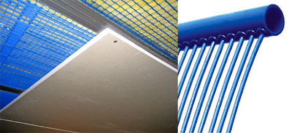 Système EPS de chauffage ou refroidissement au sol